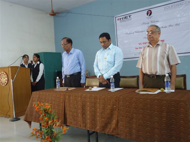 Inauguration Of VG-Tap Programme