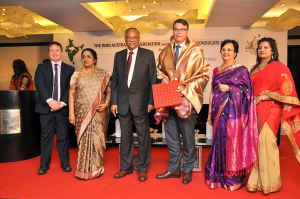 Mr. Patrick applauded significant contribution and achievements by Dr. (Mrs.) Elizabeth Verghese
