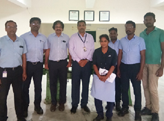 Principal and Business/Admin. Manager met with Rane Madras Company