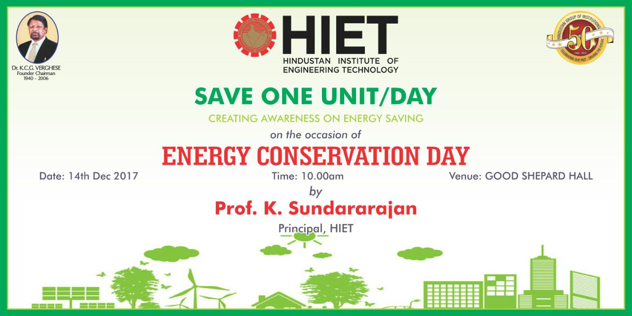 ENERGY CONSERVATION DAY PROGRAMME