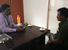 Forging Company Personnel met with Principal