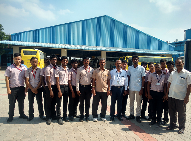 Industrial Visit of Automobile Engineering Students