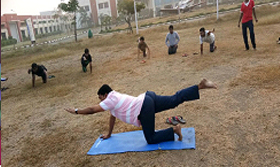 Yoga Class for HIET Students