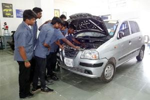 Automobile Engine Lab