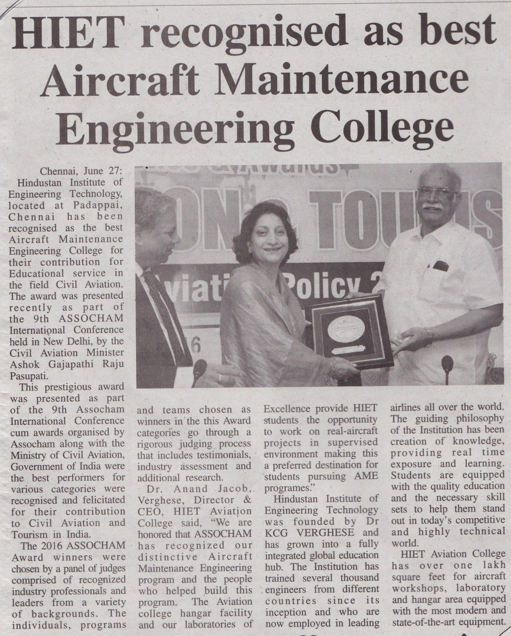 Hindustan Trinity Mirror Pg 03 June 28 Chennai