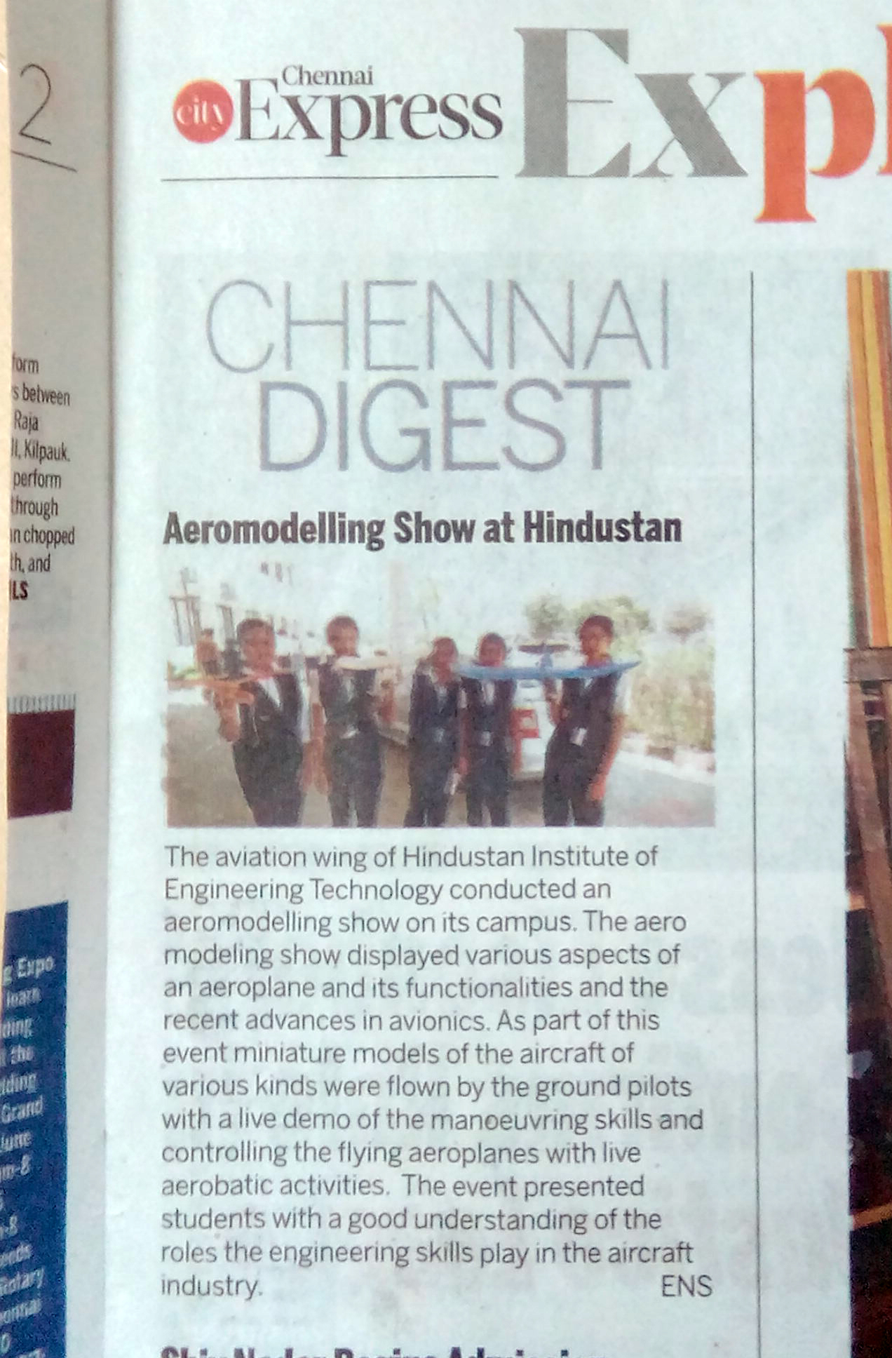 Aeromodelling Show At Hinidustan