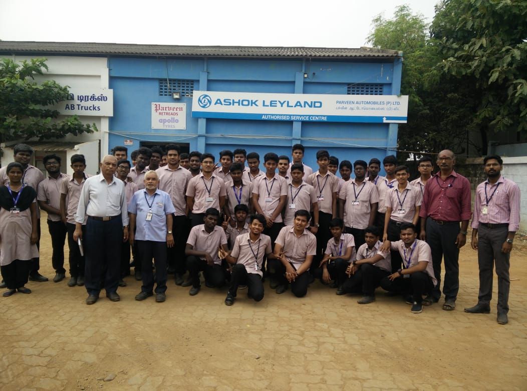 Industrial Visit to Motor Zone