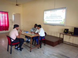 Harinarayana Campus recruitment drive