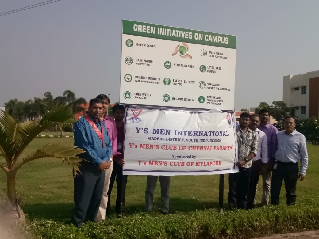 Y's Men international green initiatives