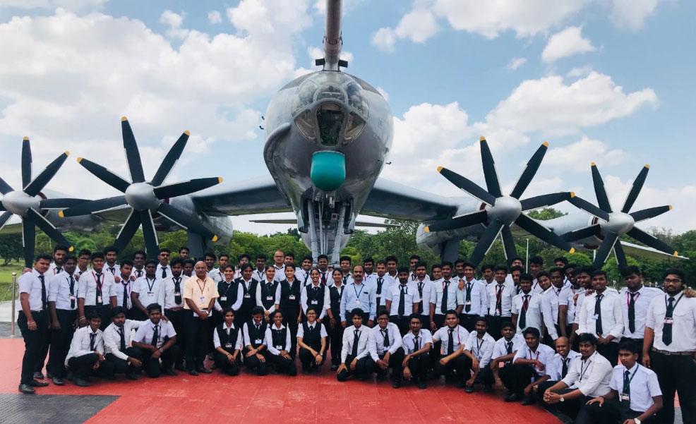 Industrial Visit - INS Rajali