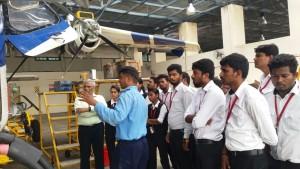 Educational visit to Coast Guard, Chennai..