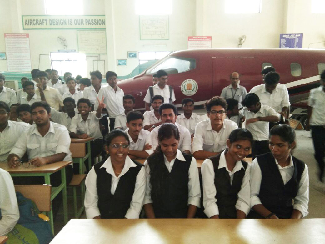 educationl visit to kcg college chennai