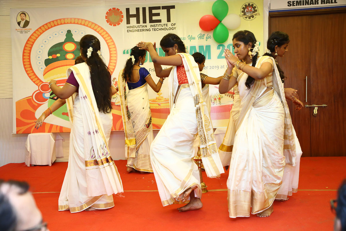 HIET Aviation Celebrates Onam