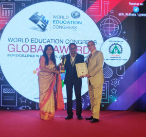 World Education Congress - Best Training Institute Award