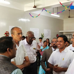 Inauguration Of HIET-TVS Vocational Training Centre